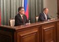 La actividad forma parte de la visita oficial que realiza el canciller a Rusia, desde este jueves, con el fin de fortalecer los acuerdos de cooperación y el trabajo conjunto con este país