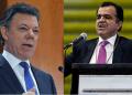 En la primera vuelta, Zuluaga fue el más votado con el 29,25 % y de Santos obtuvo el 25,69 %