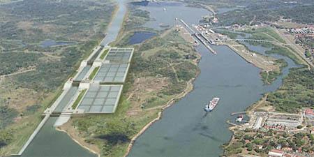 La ampliación del Canal está presupuestada en 5.250 millones de dólares y lleva un avance global del 74%