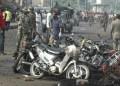 Dos bombas explotaron ayer en un mercado callejero de la ciudad nigeriana de Maiduguri  EFE