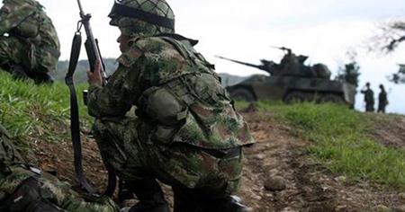 Un militar y tres supuestos guerrilleros de las FARC murieron en zona rural del departamento colombiano de Meta (centro-este)  ARCHIVO