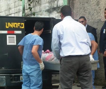 El cuerpo fue trasladado a la morgue