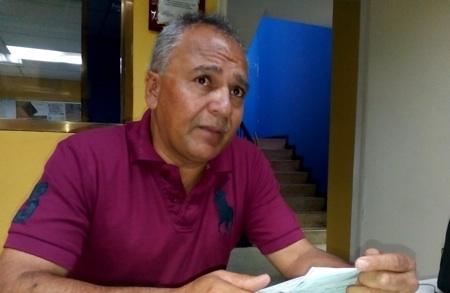Responsabilizó al concejal Oswaldo Rojas por el mal estado en el que se encuentra la vía al sector La Fosforera de la capital mirandina. ARCHIVO