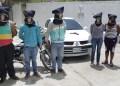 Dos mujeres formaban parte de la banda de robacarros