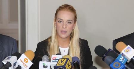 Tintori, esperanzada con la idea de que victoria Bolsonaro ayude a Venezuela