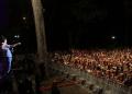 El cielo nublado de Caracas, no paró a los asistentes al momento de cantar, bailar y disfrutar de este concierto