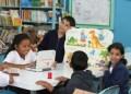 Los pocos alumnos enviados a las escuelas cumplieron labores extracurriculares