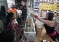 Se vendieron dos kilos de harina pan, leche y el producto diverso también de cada concesionario.