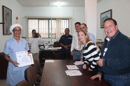 Doce trabajadores de Industrias El Globo fueron formados por el personal de Protección Civil Carrizal