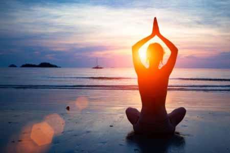 Gracias al yoga lograrás bienestar y equilibrio en tu vida.