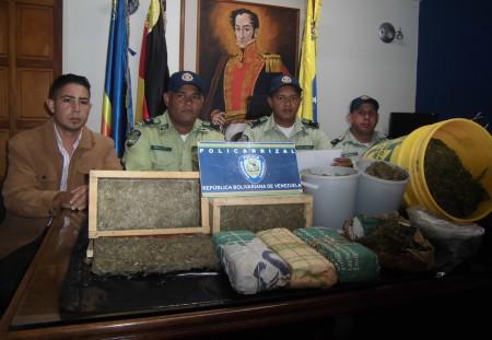 Incautaron la marihuana a un presunto agricultor de la zona