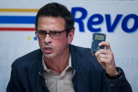 Capriles: solución en Venezuela pasa por negociación con otro acompañamiento