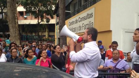 Entregaron petitorio ante Defensoría del Pueblo
