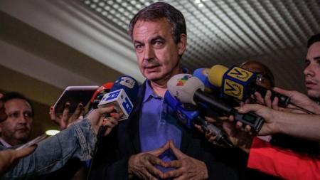 La canciller de a República, Delcy Rodríguez, sostuvo una reunión la noche de este miércoles con los expresidentes José Rodríguez Zapatero