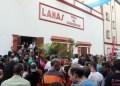 Desde las 3:00 de la tarde de este jueves 27 de octubre teatreros, autoridades y pueblo empezaron a concentrase en el bulevar Lamas esperando con gran expectativa la llegada del mandatario local para dar inicio a la actividad