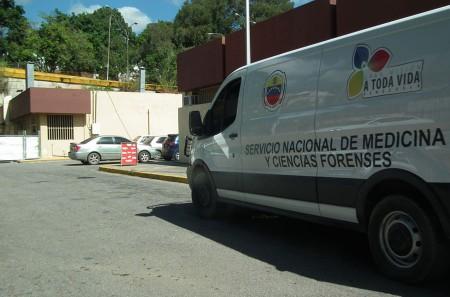 El cuerpo de Estrada fue trasladado a la medicatura forense