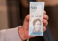 Llegan por Maquetía cargamento  billetes de 500 bolívares