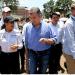 """A esta mañana 467 personas han reportado familiares como desaparecidos, de ellas se han logrado ubicar a 153, 119 con vida pero desgraciadamente 34 fallecidas"""", dijo Santos"""