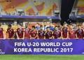 La selección de fútbol Sub-20 cayó ante Inglaterra 1 gol por 0,  finalizando en el segundo lugar de la Copa del Mundo de la categoría.