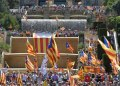 """Cataluña declarará """"inmediatamente"""" su independencia de España si gana el Sí en el referéndum de autodeterminación."""