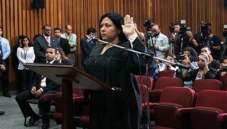 Harrington fue designada por el Poder Judicial
