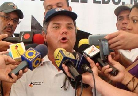 Víctor Lira, director de PC- Miranda. Foto: Irbel Useche