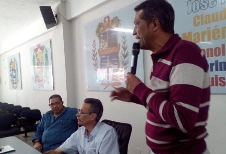 Carlos García, concejal de Carrizal