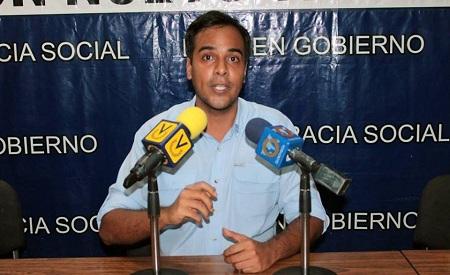 El dirigente de la tolda azul invitó al pueblo de Miranda a votar este 10 de septiembre por Rodríguez