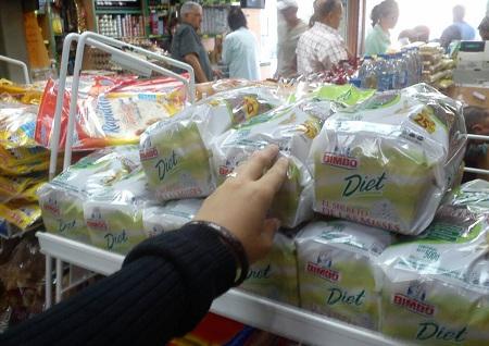 Pan dietético llegó a nuevo precio. Foto: Deysi Peña