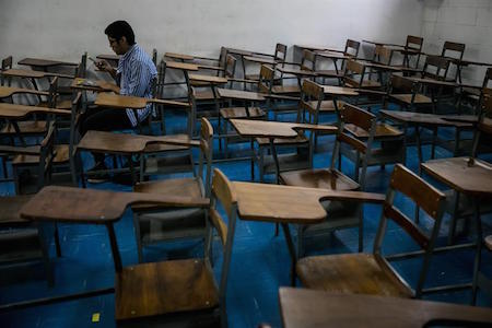Profesores de universidades venezolanas realizan paro por mejoras salariales
