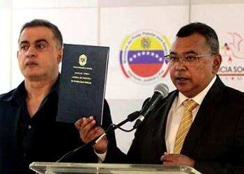 """""""Esta página fomenta la denuncia y convierte a los ciudadanos en actores directos dentro del proceso de la lucha contra el delito"""" dijo el ministro de Interior y Justicia, Néstor Reverol, en rueda de prensa."""