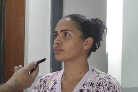 Dayana Español, coordinadora de salud