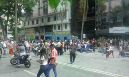Protesta cerró la avenida Bermúdez.