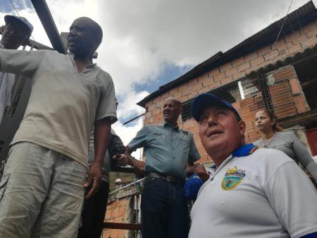 Rodríguez recorrió el domingo barrio Francisco de Miranda