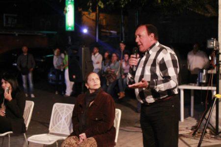 Candidato José Luis Rodríguez encabezó asamblea en Llano Alto