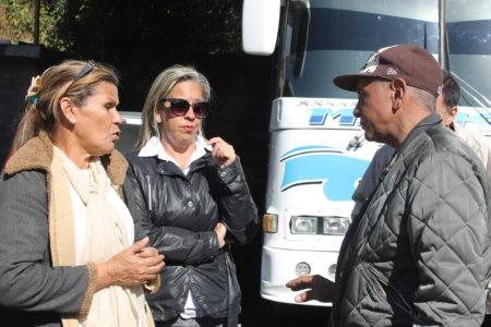Concejales se reunieron con Unión de Transportistas para hacer entrega de denuncias de usuarios