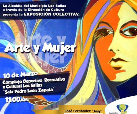 """Homenajearán a mujeres con la muestra """"Arte y Mujer"""" en la sala de exposiciones """"Pedro León Zapata"""""""