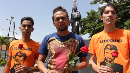Voluntad Popular Carrizal realizó homenaje a Neomar Lander