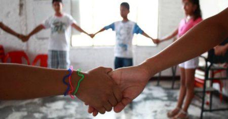 Unos 13 niños viven en la casa hogar carrizaleña.