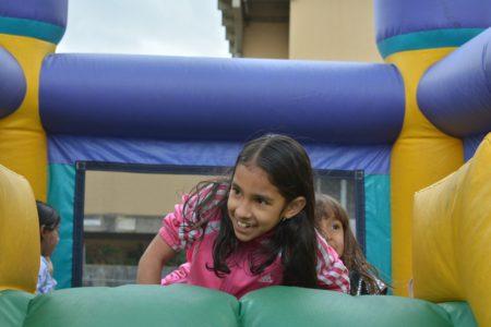 Complejo Recreativo, Cultural y Deportivo se convierte en Feria de Juegos para el Día del Niño