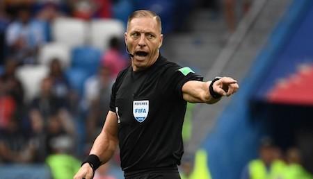 Francia vs. Croacia: este es el árbitro que dirigirá la final del Mundial Rusia 2018