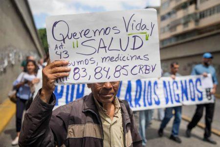 Se multiplican las protestas gremiales por crisis en Venezuela