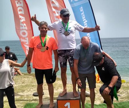Nadadores sanantoñeros lograron podio en importantes eventos deportivos