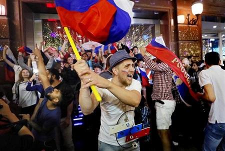 """""""Campeones de nuestros corazones"""": Selección rusa conquista al país"""