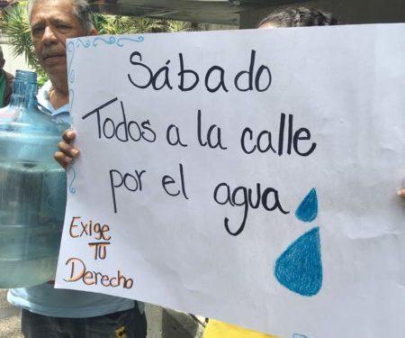 Convocan a movilización masiva este sábado desde Chacaíto hasta sede de Hidrocapital para exigir restitución del servicio