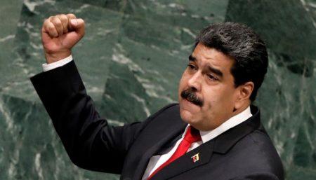 """Maduro denuncia en la ONU la """"agresión"""" de EEUU, pero ofrece diálogo a Trump"""