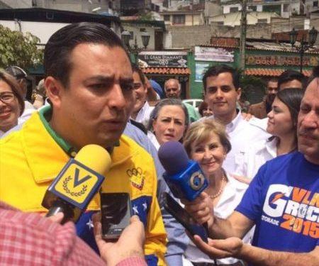 Darwin González, alcalde del Municipio Baruta
