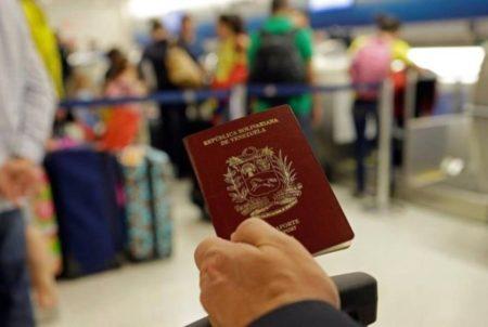 Once países reconocerán pasaportes vencidos de venezolanos