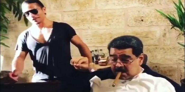 Mientras Venezuela pasa hambre, Nicolás Maduro come con famoso chef