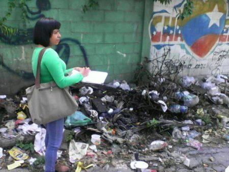 Cristina Hernández, dirigente de Copei en Guaicaipuro